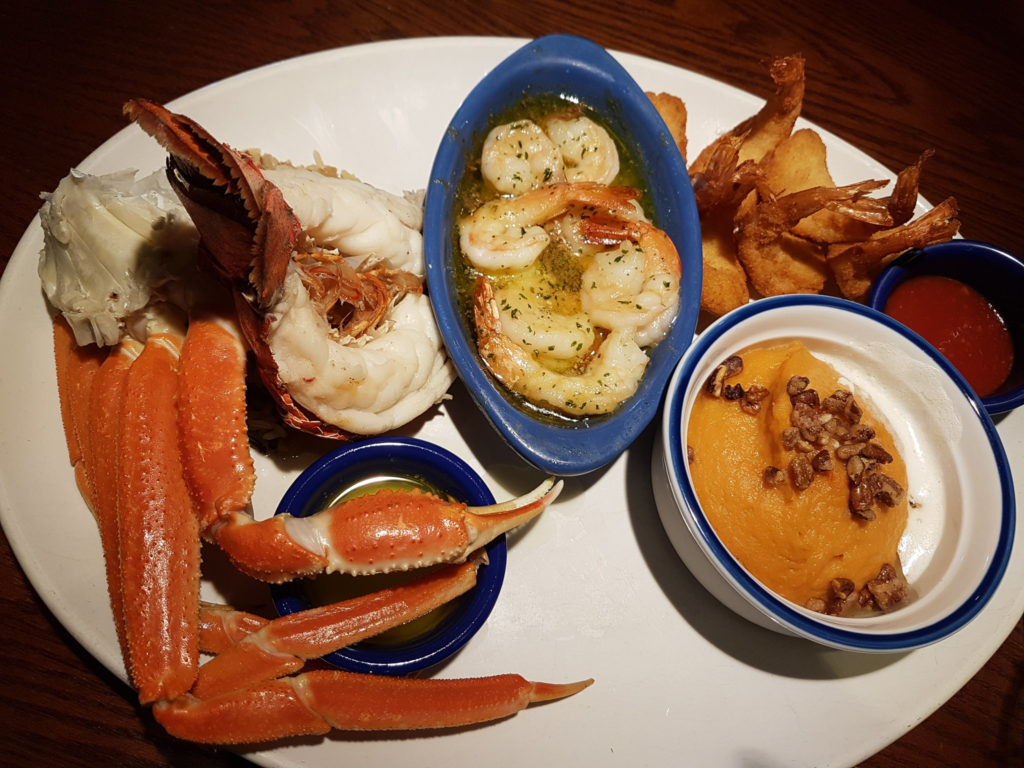 red lobster orlando - gordura pura