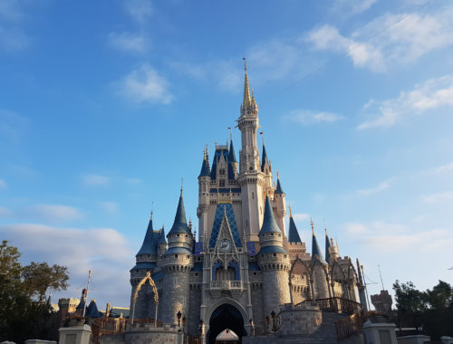 Castelo da Cinderela no Magic Kingdom