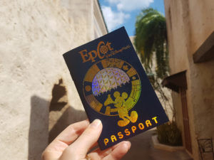Passaporte Disney do EPCOT
