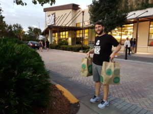 Comprando no Whole Foods Orlando