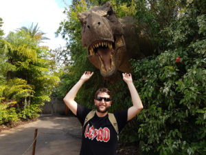 T-rex do Jurassic Park - Islands of Adventure