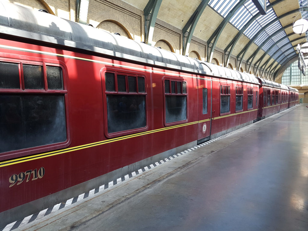 Trem do Harry Potter