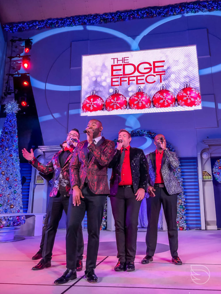 Show de Natal Magic Kingdom The Edge Effect