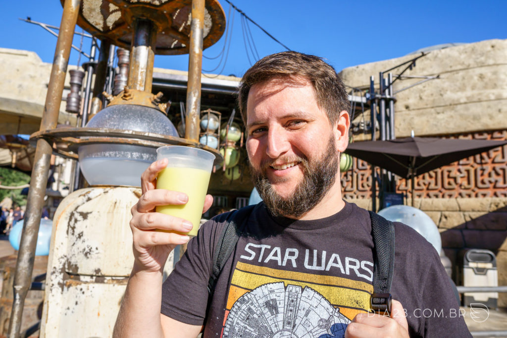 leite verde star wars hollywood studios