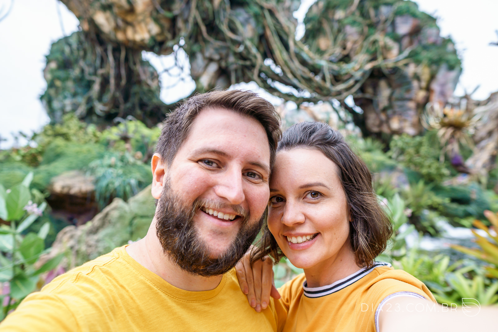 Selfie no Mundo de Avatar no Animal Kingdom