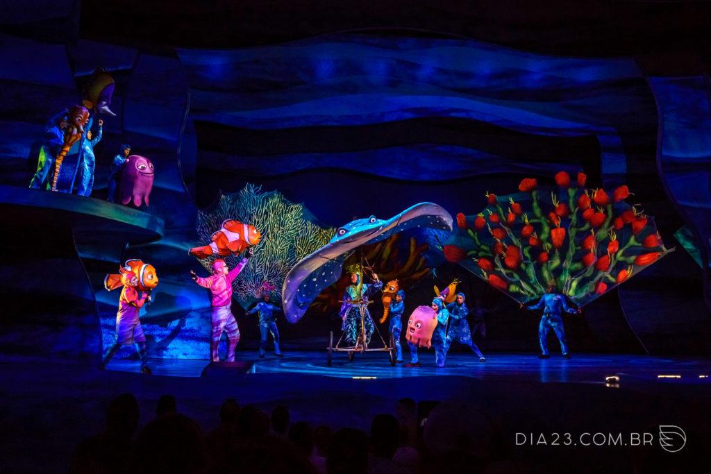 Show do Finding Nemo no Animal Kingdom