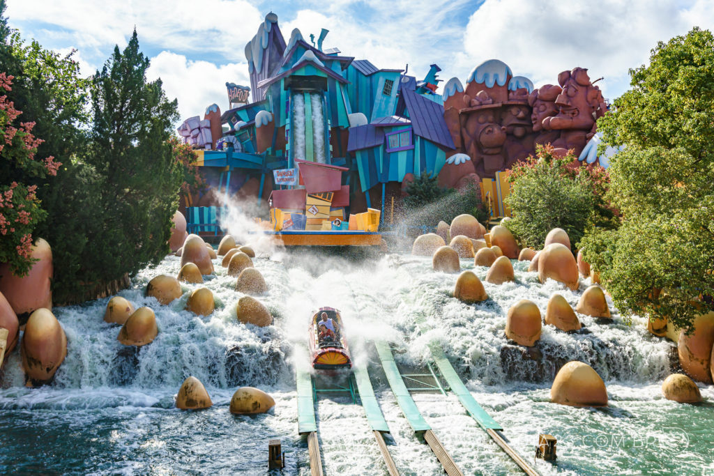 atração dudley do rights ripsaw falls islands of adventure