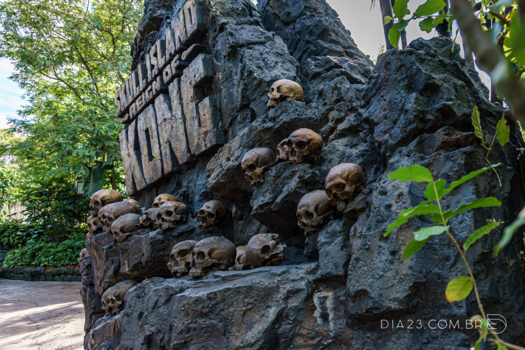 atração skull island reign of kong islands of adventure