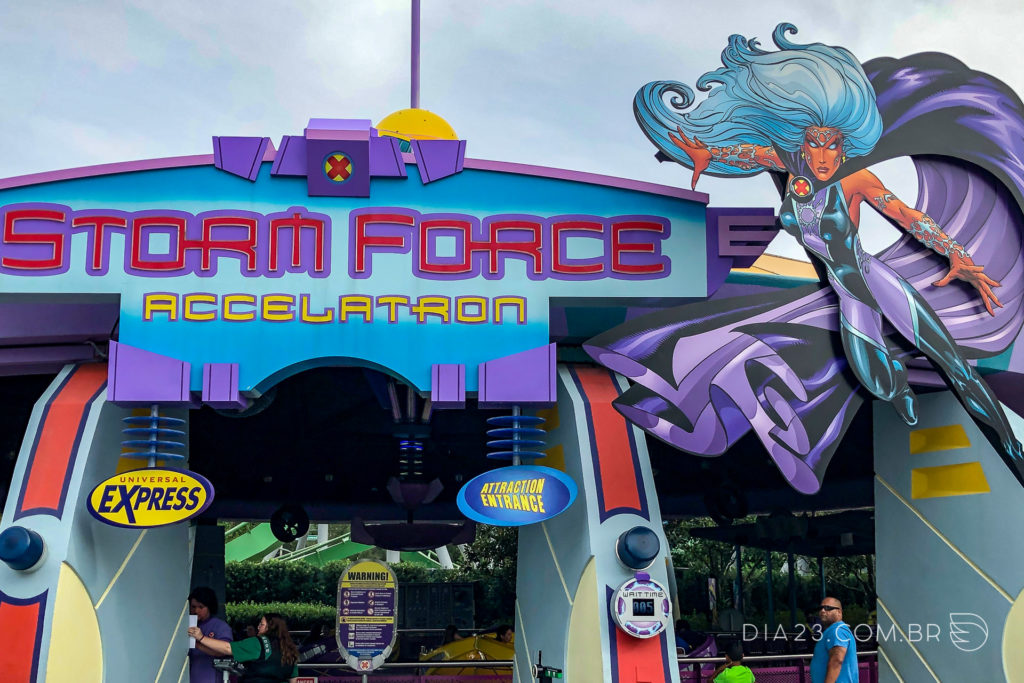 atração storm force accelatron islands of adventure