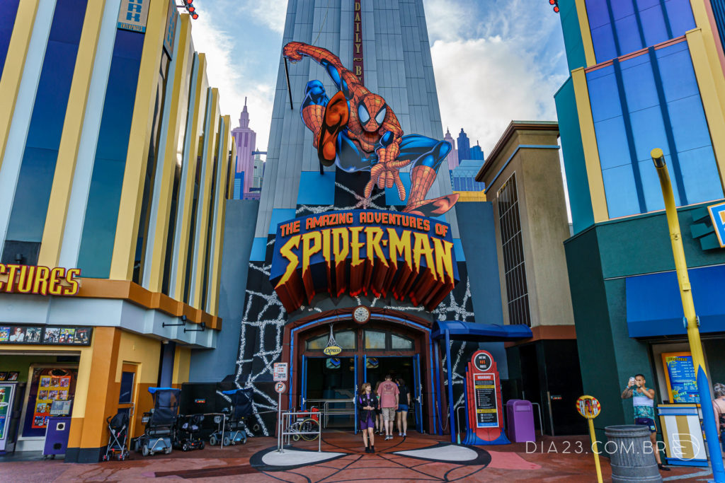 atração the amazing adventures of spider man islands of adventure
