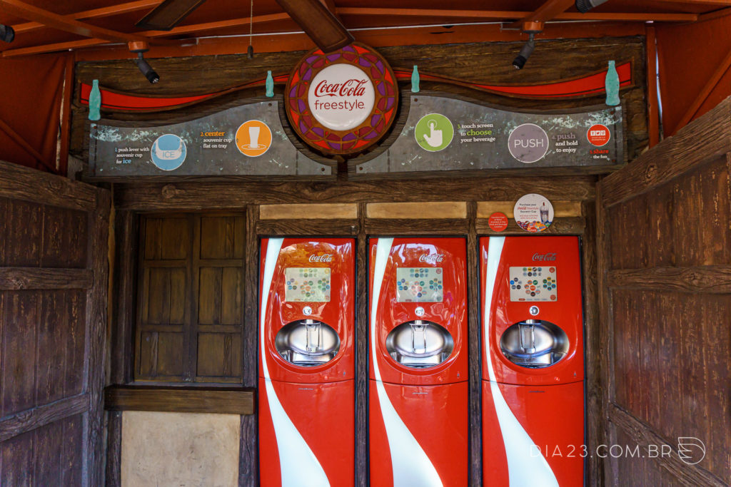 coca-cola refil universal studios islands of adventure