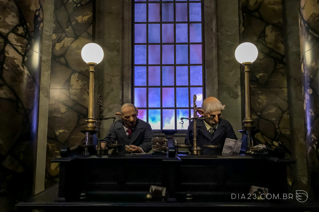 harry potter and the escape from gringotts universal studios atracao
